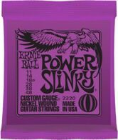 Ernie Ball 2220    Nickel Wound Power Slinky (11-14-18p-28-38-48)