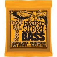 Ernie Ball 2833 струны для бас-гитары Nickel Wound Bass Hybrid Slinky (45-65-85-105)