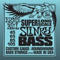 Ernie Ball 2849 струны для бас-гитары Nickel Wound Bass SLS Slinky (45-65-85-105)